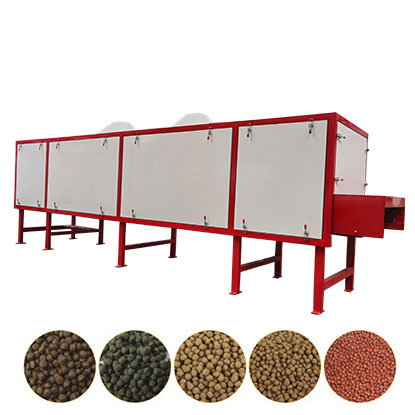 floating fish feed dryer