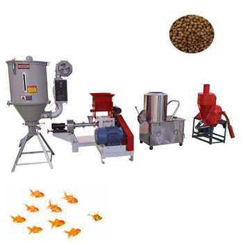 100kg/h fish feed pellet production line