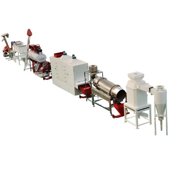 200 Kg/Hr - 500 Kg/Hr Fish Feed Machine Line