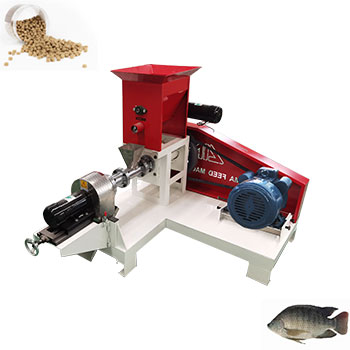 60Kg/H - 100Kg/H 100kg/h dry type fish feed extruder
