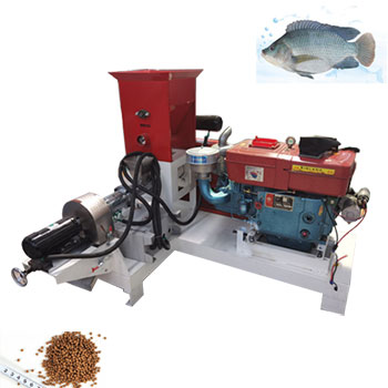 Diesel Engine Fish Feed Pellet Machine