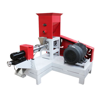 150kg/h fish feed extruder machine